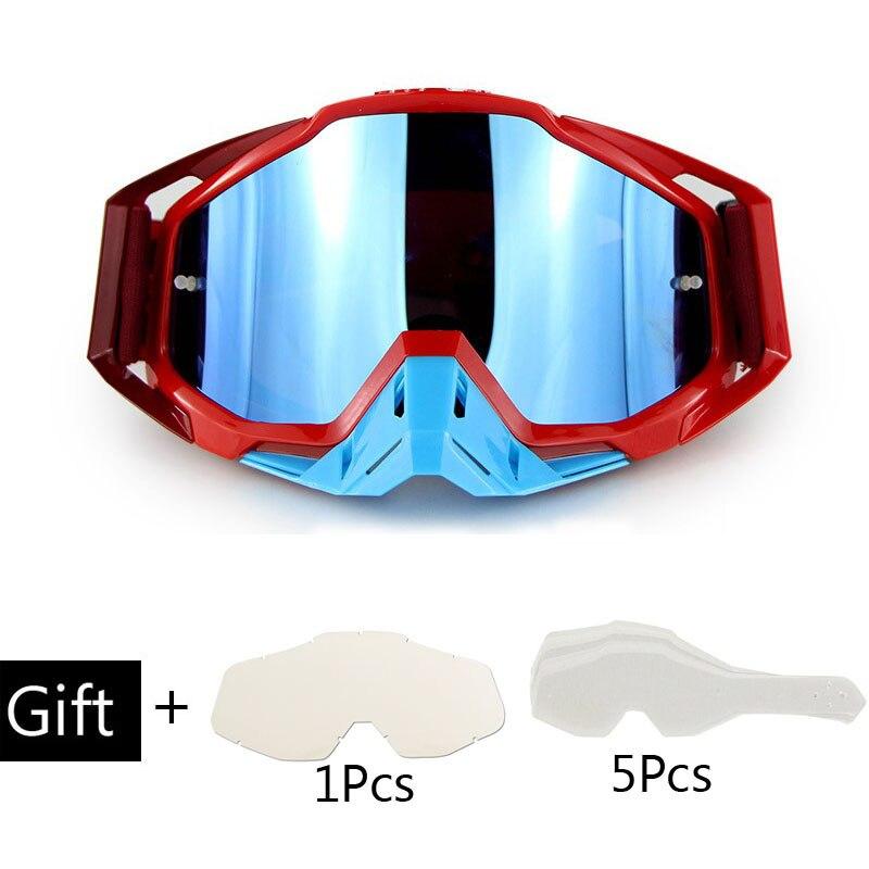 Hot Sale Gafas Motocross Goggles Dirt Bike Helmet Goggle Glasses Oculos Motorcycle Goggles Motocross Googles Lunette Motorcycle Glasses