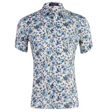 Brand new camisas Beach Shirt Men Hawaii shirt beach leisure fashion floral tropical seaside hawaiian US Size S-XXL