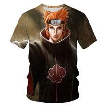 Teens and children summer fashion 3DO collar super handsome Japanese ninja anime top short sleeve boutique T-shirt