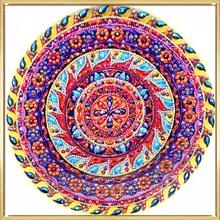 Diamond Painting Red Mandala Style Picture Of Rhinestone Painting DIY Diamond Mosaic Christmas Home Decoration Hot Sale Painting