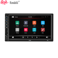 7inch TFT Display Bluetooth Stereo FM Radio Touch Screen Player 2 Din HD Mp5 Player For IOS/ Android Mobile Phone Mirror Connect