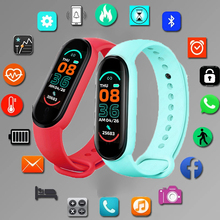 Smart Band M6 Smart Watch Men Women Heart Rate Monitor Blood Pressure Fitness Tracker Smartwatch Smartband Clock For iOS Android