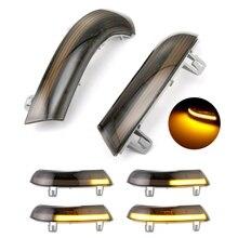 ديناميكية الوامض مصباح إشارة الانعطاف led الجانب مرآة مؤشر ل فولكس فاجن باسات B6 جولف 5 جيتا MK5 باسات B5.5 GTI V شاران رائع