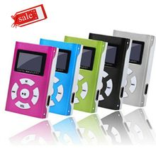 Mini USB MP3 Player Layar LCD 32GB Micro SD Disebut TF Kartu Isi Ulang Pemutar Musik 3.5 Mm Jack Audio Portabel player Mp3(China)