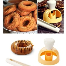 Cake-Mold Baking-Tool Kitchen-Accessories Cookie Plastic Creative Doughnut Embossing