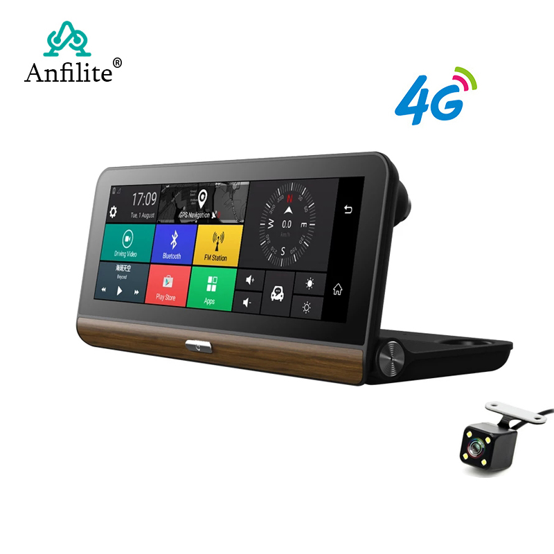 Anfilite DVR Video-Recorder Parking-Monitoring Car-Camera GPS WIFI Android E31 Pro Registrar title=