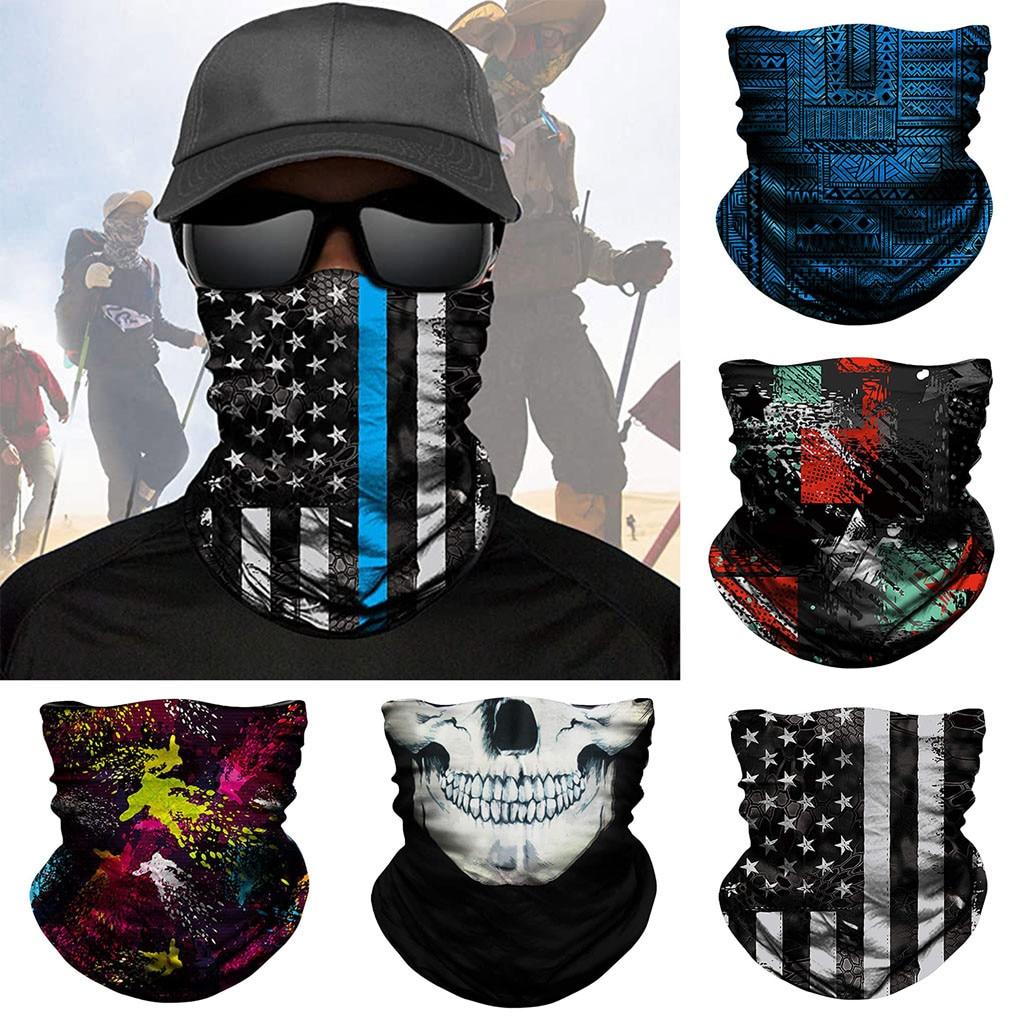 Scarf Neck Warmer Neck Gaiter Half Face Mask Head Bandanas Shield Headband Headwear Men Women Dropshipping June 1st(China)