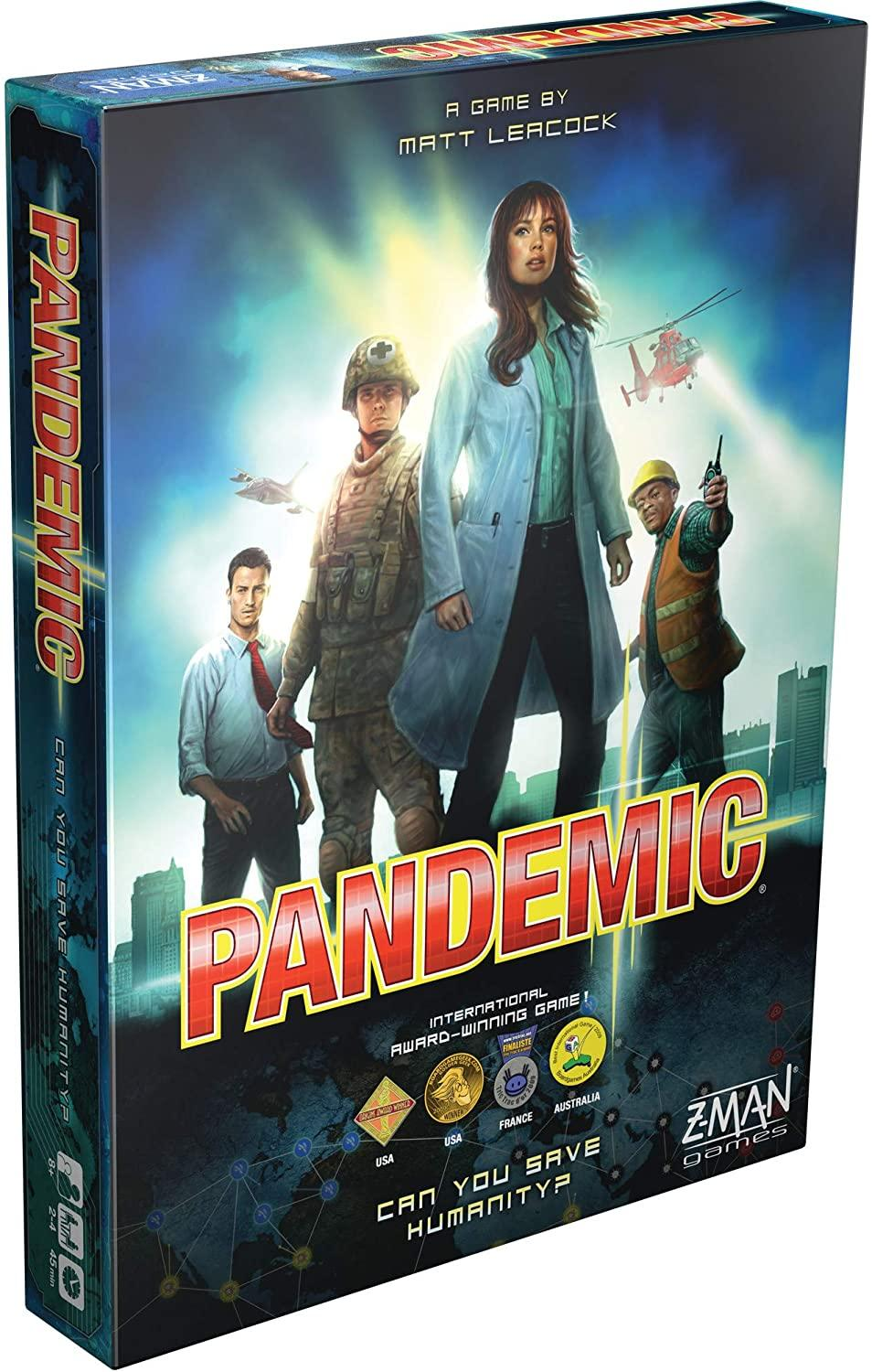 Board Game Pandemic Plague Legacy Series Z Men Save The Humanity 2-Player Family Party Strategy Games