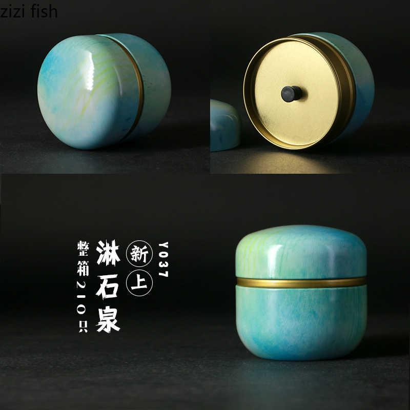 Wow! Wat Een Mooie Retro Thee Doos, Snoep Pot, Thee Pot, Sieraden Pot, 50 Ml Japanse Stijl Keuken Woonkamer Decoratie