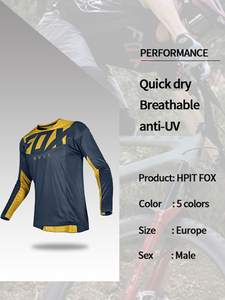 Downhill Jersey Shirt Mtb-Offroad Bicycle Mountain-Bike-Team DH Cross-Country MX Locomotive