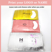 25/50/100Pairs Patches for Eyelash Extension Under Eye Pads Paper Patches Pink Lint free Stickers for False Eyelashes