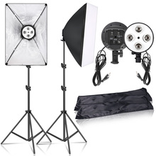 Photography  Lighting Continuous Shooting Light  Accessories  Photo box Soft box For Photo Studio Light Box Camera Video Kit