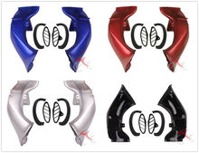 Motorcycle Ram Air Intake Tube Duct Pipe For YAMAHA YZF 1000 R1 YZF-R1 YZFR1 2004 2005 2006  Left Right Black/Silver/Red/Blue