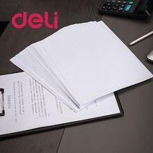 Deli 100 шт/упак a4 печатная бумага многофункциональная копировальная