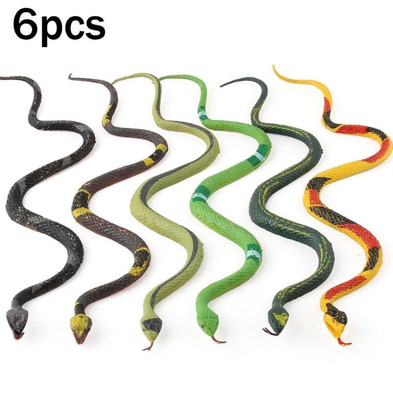 Реалистичная пластиковая хитрая игрушка поддельные змеи боа погремушка Модель отличная игрушка-имитация шалости Хэллоуин