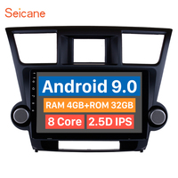 Seicane Android 9.0 10.1 Inch 4G Wifi Head Unit Radio Audio GPS Multimedia Player For 2009 2010 2011 2012 2014 Toyota Highlander