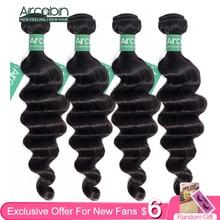 Aircabin extensiones de cabello humano Remy mechones de pelo peruano ondulado, Color Natural, más ondas, envío rápido