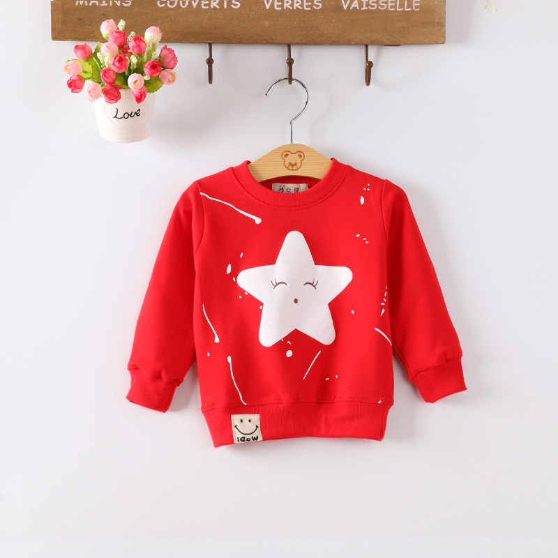 IENENS Boys Girls Clothes Clothing Toddler Infant Pullovers Sweatshirts Casual T-shirt Hoodied Tops Cotton T Shirt 0-3Y