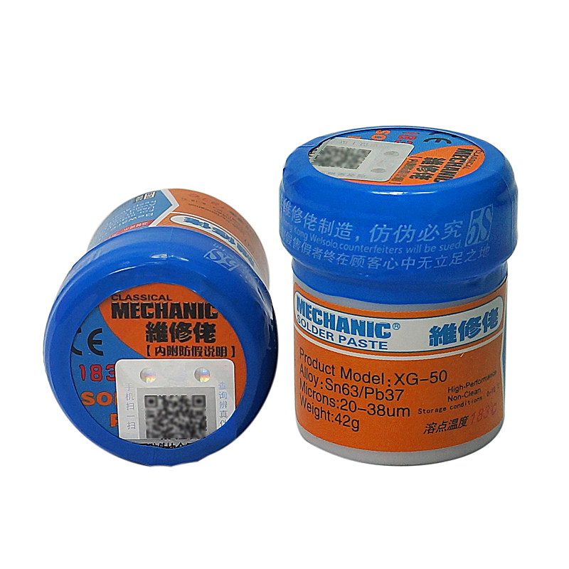 Solder Flux Paste XG-50 42g SN63/Pb37 Leaded Soldering Tin Cream Welding Fluxes SMD