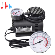 Digital Tire Inflator DC 12V 300PSI Car Tire Inflator Auto Air Compressor Tire Pump with Pressure Gauge for Car Bicycle Ball new 12v 300psi car auto portable mini electric air compressor kit for ball bicycle minicar tire inflator pump car accessories
