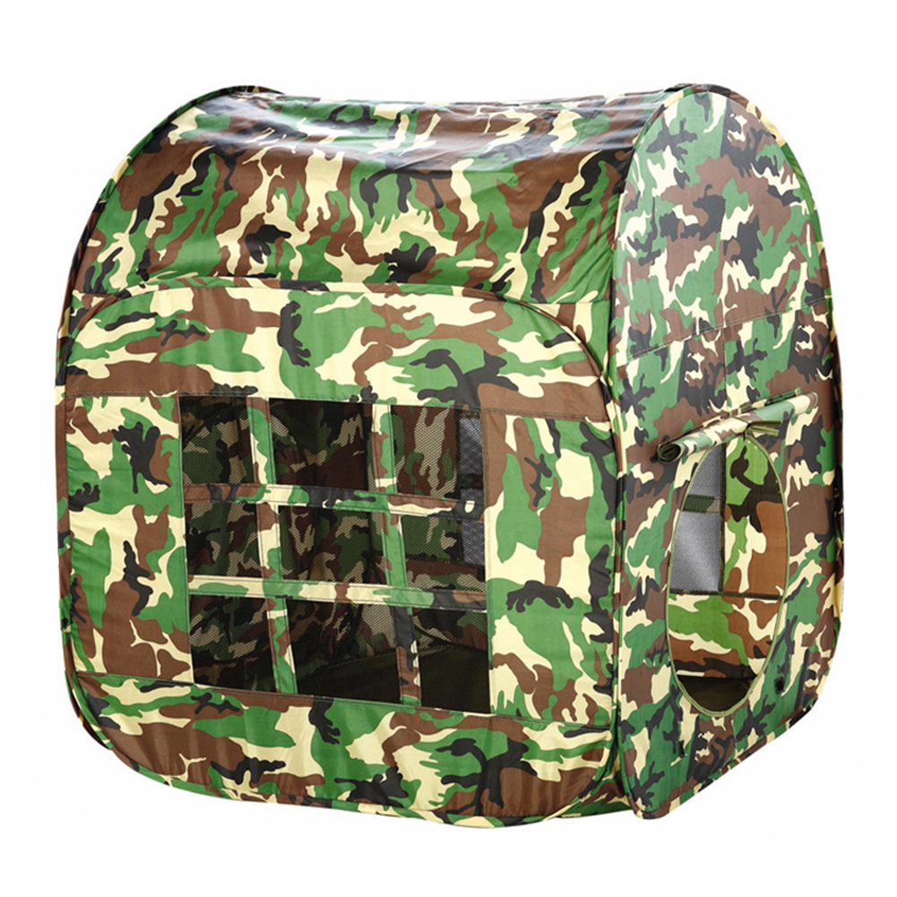 House Baby Camouflage Army Toy Portable Foldable Gift Childrens Kids Garden Play Tent Fabric Outdoor Gaming Large