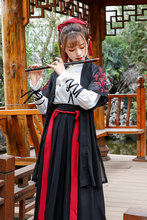 Tradicional chinesa Hanfu Mulheres Traje Dança Folclórica Roupas Orient Espadachim Dança Cosply Roupas Dinastia Tang Roupa Fase 90