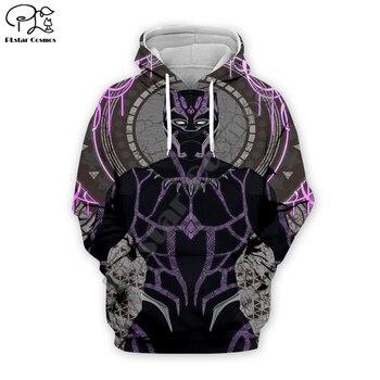 цена PLstar Cosmos Hot movie New fashion Harajuku Black panther Marve The Avengers 3D Printed Hoodies/Sweatshirt/Jacket/Men/Women s-3 онлайн в 2017 году