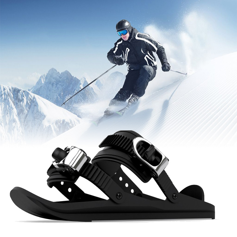 Snowboard Boots Lightweight Portable Durable Practical Outdoor Snow Parks High Quality Short Skiboard Equipments Mini Ski Shoes