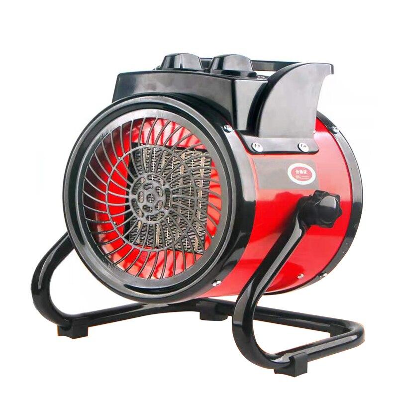 Портативный промышленный электрический обогреватель термостат подогреватель воздуха радиатор комнатный обогреватель 2 кВт быстрый нагре...