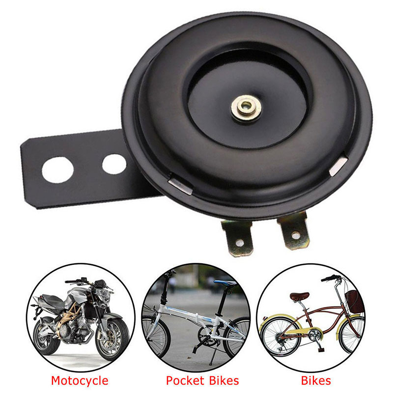 Waterproof 105dB Motorcycle Horn 12V Loud Sound Car Electric Horn For ATV Scooter Moped Air Horn Accessories