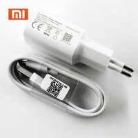 Xiaomi-cargador de 5V 2A para móvil, Cable de datos Micro USB tipo C para Mi 8 9 SE lite A1 A2 5 6 9t Redmi 4 4X 5 Plus 6 4X Note 5 4