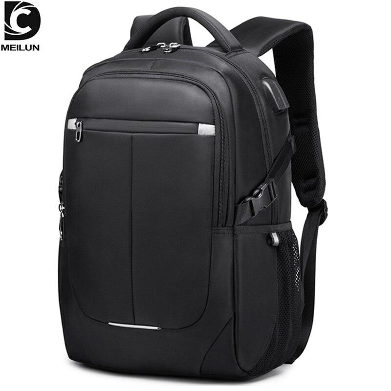 DC.meilun 15.6 inch Men School Laptop Backpack Water Repellent Schoolbag Male Mochila Feminina Women Travel Backpacks a8806
