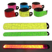 2 шт светоотражающая Светодиодная лента на руку