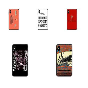 TPU Protective Skin For Xiaomi Redmi Note 4 5 5A 6 7 8 8T 9 9S Pro Max Creedence Clearwater Revival image