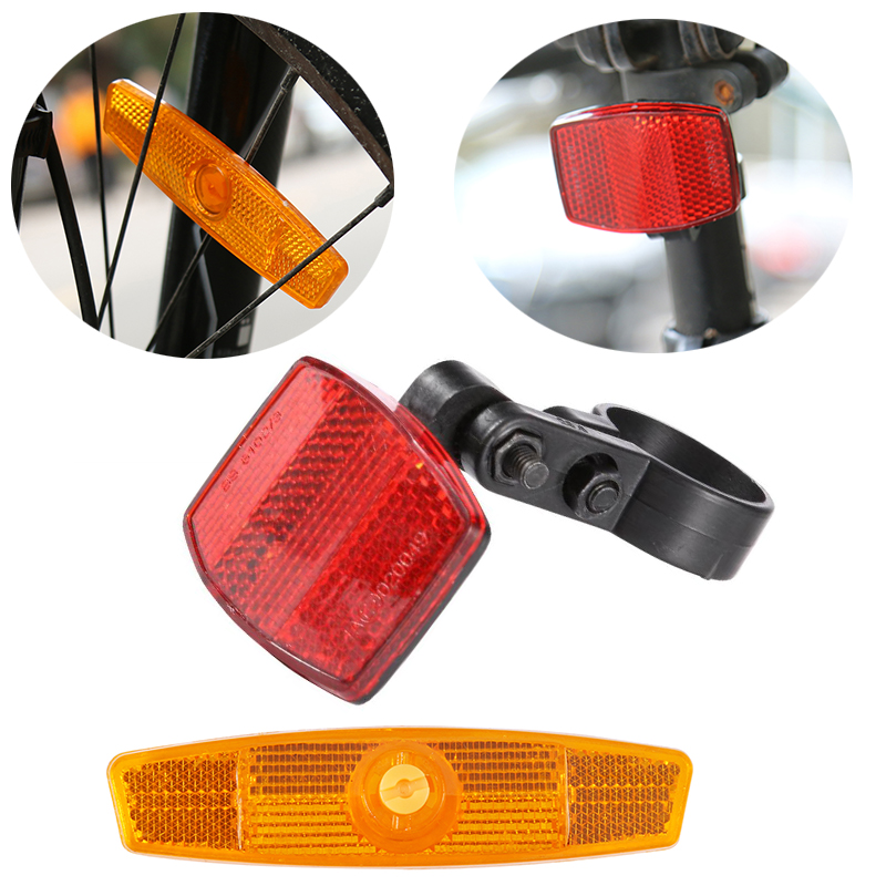 New Warning Lights Wheel Reflective Mountain Bike Bicycle Spoke Reflector PVC