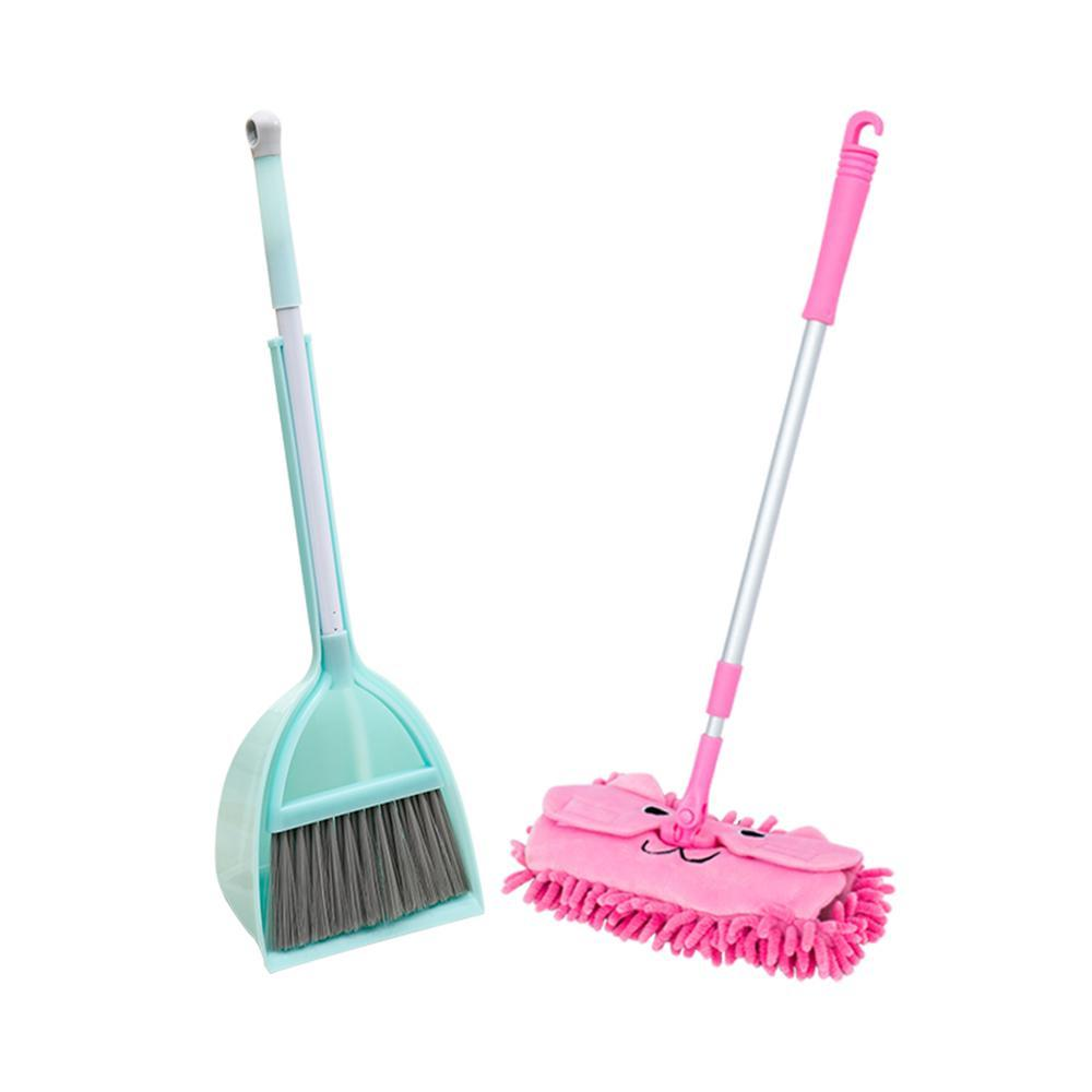 Children In Kitchen Broom Miniature Utensils Toys For Kids Pretend Play Mops Floor Cleaning Pretend Play Cleaning To Set