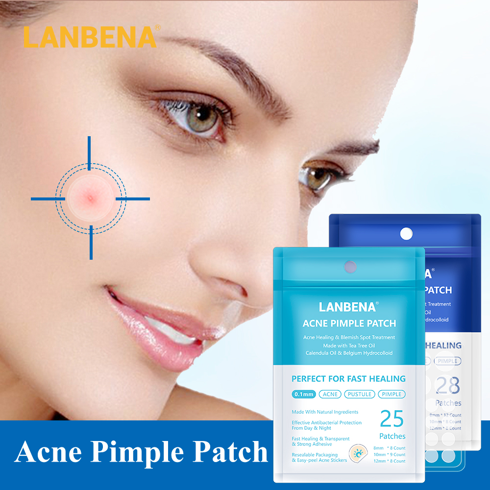 Lanbena Acne Pimple Patch Face Mask 28pcs Invisible Acne Stickers Blemish Treatment Pimple Remover Tool Skin Care Face Cream Ziloqa Makeup Healthcare Products Surgicalmask Pm2 5mask Kn95mask