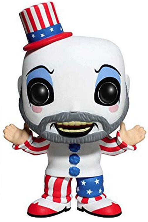 House Of 1000 Corpses Captain Spaulding Clown Figure Collection Vinyl Doll Model Toys