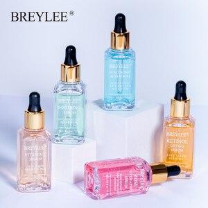 BREYLEE Serum Series Hyaluronic Acid Vitamin C Whitening Face Skin Care Rose Nourish 24k Gold Firm Soothing Repair Essence 1pcs(China)