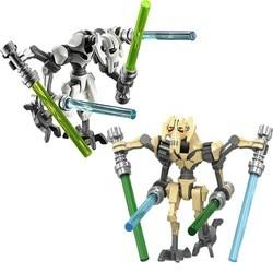 Star wars geral robô grievous com sabre de luz batalha droid modelo blocos de construção enligthen figura ação brinquedos para crianças