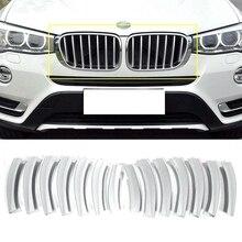 Автомобильная передняя решетка сетки литья Накладка для BMW X3 F25 2011