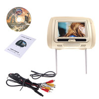 Auto Headrest DVD Players DL HD7010 7 Inches HD Universal Car Display Headrest USB LCD Display Screen Accessories
