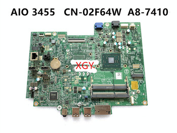 For DELL 3455 3055 motherboard all-in-one 14050-1 DVXTH A8-7410 2F64W 02F64W 100% Test OK