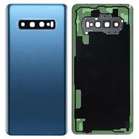 "battery samsung galaxy Shyueda 100% New For Samsung Galaxy S10 6.1"" SM-G973F G973U G973W Rear Back Door Housing Battery Door Cover + Adhesive (4)"
