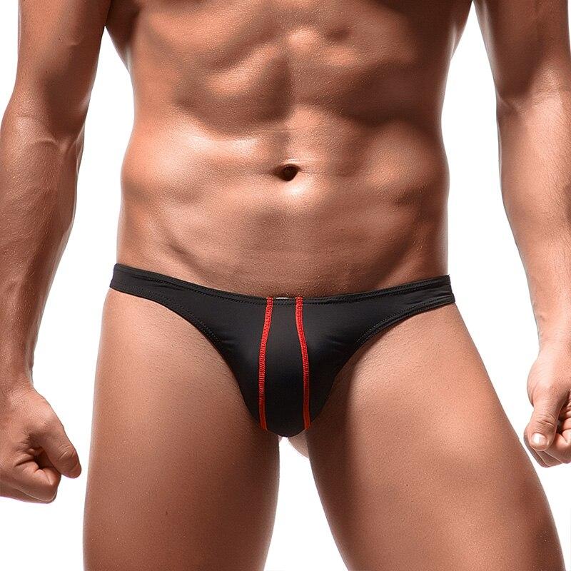 Sexy Man Briefs Cool Underpants 8 Color Breathable Innerwear Comfortable Male Bikini Slip Low Waist Underwear For Men