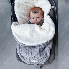 Пеленка с капюшоном для новорожденного ребенка 0-8 м, трикотажная, для завёртывания для пеленания, одеяло, теплая коляска, спальный мешок, зимнее мягкое детское одеяло с защитой от ударов