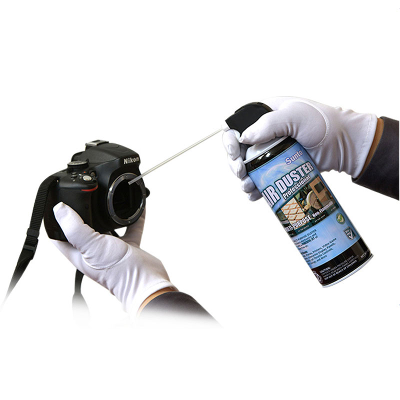 400ml  300 Times Air Duster Computer Vacuum Cleaner Camera Cleaning, Remove Dirty Dust From Keyboard Computer Camera Mirror