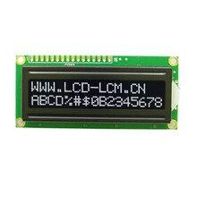 شاشة 1602 16X2 شخصية وحدة عرض LCD (حرف أبيض) FSTN خلفية سوداء سلبية