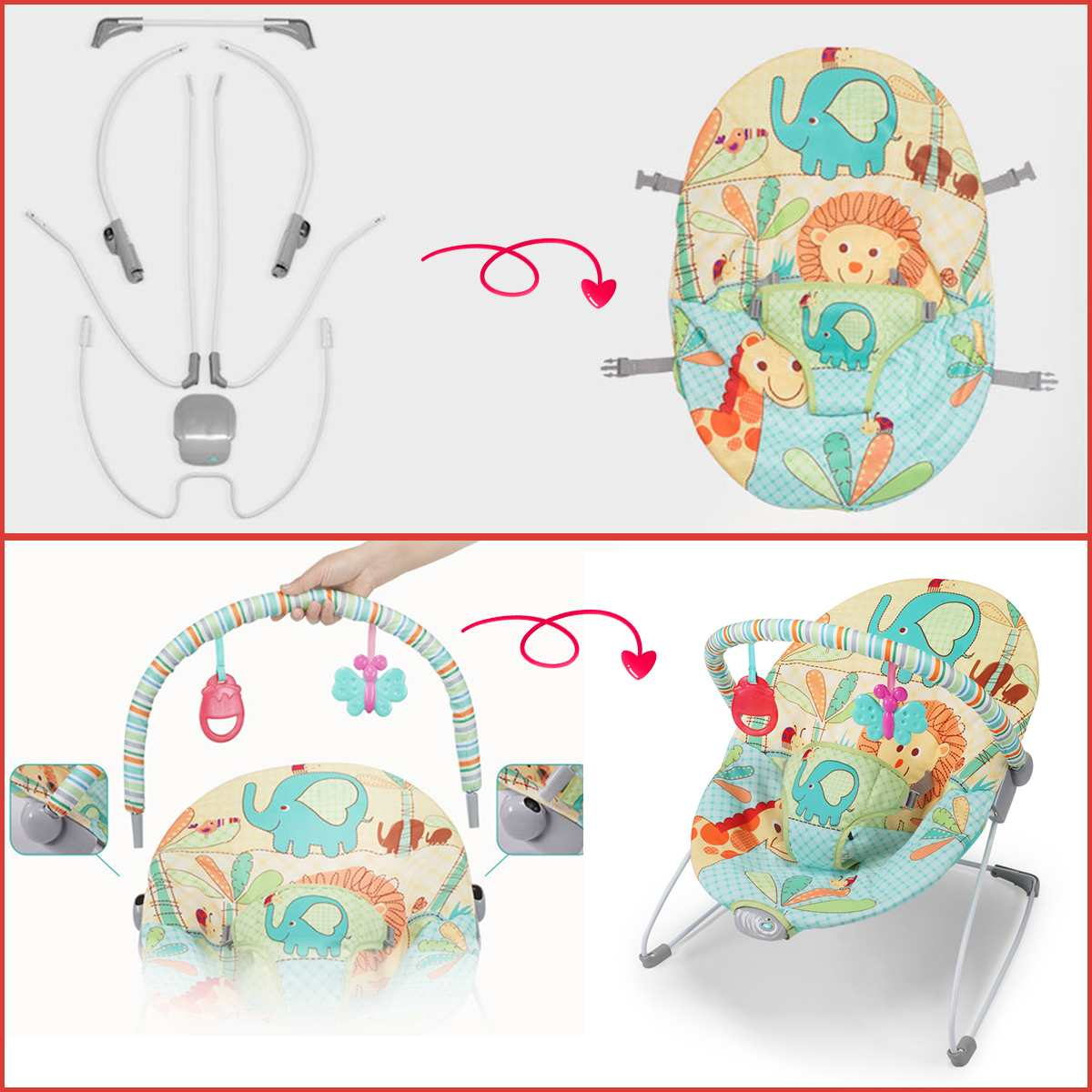 Folding Multifunctional Baby 0 12 month Rocking Chair Baby Cradle Chair Newborn Comfort Chair Shaker Swing Folding Multifunctional Baby 0-12 month Rocking Chair Baby Cradle Chair Newborn Comfort Chair Shaker Swing Chair Baby Bed