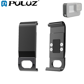 PULUZ For Go Pro Accessories Metal Battery Side Interface Cover for GoPro HERO9 Black - discount item  26% OFF Camera & Photo
